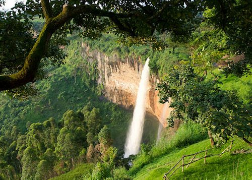 the falls in uganda