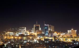 Kigali City, Rwanda.