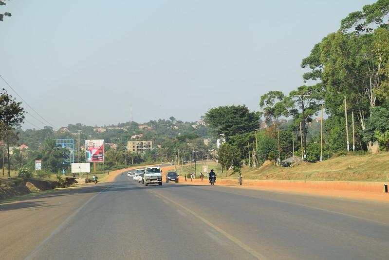 Entebbe Road Uganda