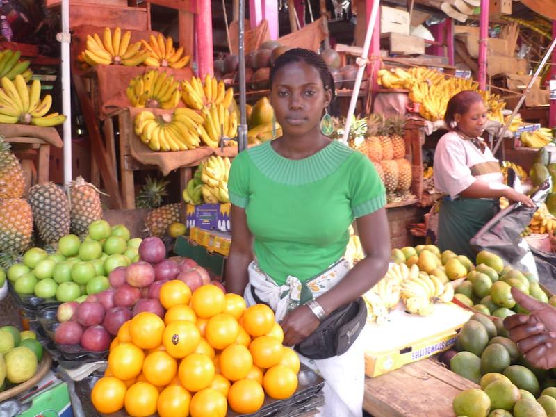 Kampala city market tour