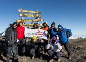 peak of kilimanjaro