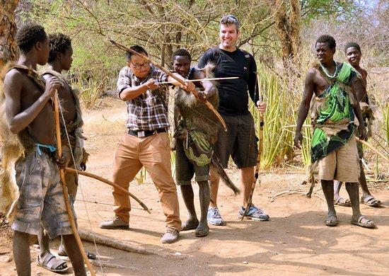 Tanzania bushmen African Safari